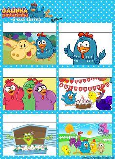 Lindo convite gibi da galinha pintadinha. Para editar e imprimir: http://fazendo-festa.net/convites-para-imprimir/convites-para-editar-e-imprimir-da-galinha-pintadinha/::