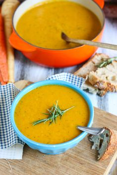 Roasted Root Vegetable Bisque #vegan