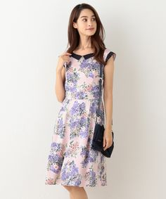 Purple//Pink//Black Asymmetrical Faery Hem Satin Floral Print Cami Top