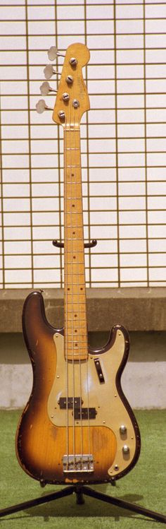 It might not look like much, but this is the holy grail.  1957 Fender Precision Bass.