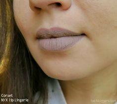 NYX, Lip Lingerie, Corset, свотчи, отзыв