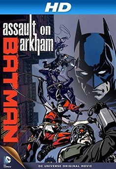 Directed by Jay Oliva, Ethan Spaulding.  With Kevin Conroy, Neal McDonough, Hynden Walch, Matthew Gray Gubler. Batman works desperately to find a bomb planted by the Joker while Amanda Waller hires her newly formed Suicide Squad to break into Arkham Asylum to recover vital information stolen by the Riddler. (i need this)
