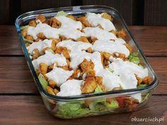 Kliknij i przeczytaj ten artykuł! Coleslaw, Aesthetic Food, Kraut, Feta, Great Recipes, Salad Recipes, Potato Salad, Cabbage, Salads