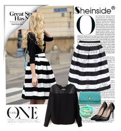 """""""Sheinside 6/I"""" by merima-p ❤ liked on Polyvore featuring Ruby Rocks, women's clothing, women's fashion, women, female, woman, misses and juniors"""