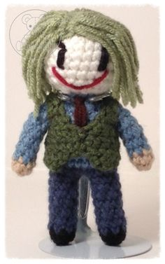 The Joker Dc Characters, Joker, Artisan, Gallery, Crochet, Jokers, Chrochet, Crocheting, Comedians