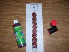 Ice Cream Cone Number Stamp - could use with dot stampers Summer Preschool Activities, Preschool Centers, Preschool Math, Math Classroom, Kindergarten Math, Fun Math, Classroom Activities, Maths, Ice Cream Theme