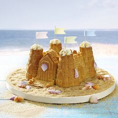 Sandcastle-Cake-Mould - from Lakeland