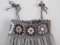 """IMG_0245 [ """"Love this dress Inspiracion ༺✿Teresa Restegui…"""" ] # # #Crochet #Clothes, # #Crochet #Dresses, # #Crochet #Granny, # #Dmc, # #Quilling, # #Gifts, # #Embroidered #Clothing, # #Tissue, # #Knit #Baby"""