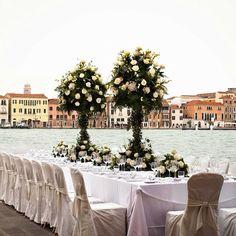 Morlotti Studio - Wedding in Venice #centerpiece #morlottistudio #location #wedding #photographer #venice
