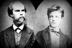 """Arthur Rimbaud y Paul Verlaine, poetas. París, segunda mitad del siglo XIX, les conocemos como los """"poetas malditos"""", su relación amorosa escandalizó a la sociedad bienpensante de su tiempo."""