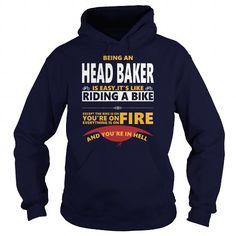 Cool and Awesome HEAD BAKER JOBS TSHIRT GUYS LADIES YOUTH TEE HOODIES SWEAT SHIRT VNECK UNISEX Shirt Hoodie