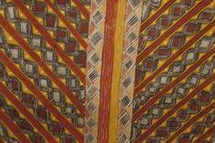 Îles Tiwi, peintures de danses à motifs géométriques  à Lyon