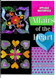 Affairs of the Heart Pattern Books  xxx