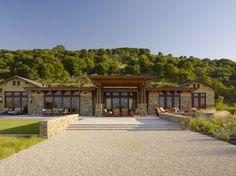 Earthy Modern contemporary exterior