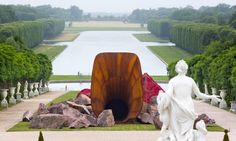 "Anish Kapoor, ""Dirty Corner"" (2011-2015) Château de Versailles"