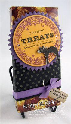 Halloween Cracker Jacks by Debbie Olson for Papertrey Ink