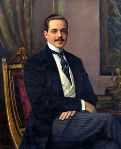 Henrique Medina - Portrait of His Majesty Manuel II - Last King of Portugal Portuguese Royal Family, Image Categories, Coat Of Arms, Portraits, Evolution, Royalty, King, History, Celebrities