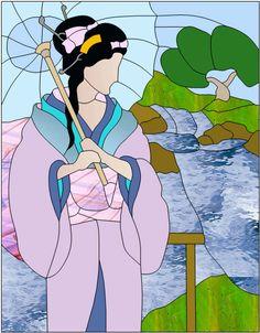 Geisha & paysage hebergée par ZimageZ