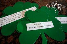 St Patricks Day Scavenger Hunt