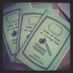 Cahier de dessins autonomes - Gijou à la maternelle Petite Section, Home Schooling, Primary School, 1, Classroom, Scrapbook, Activities, Personalized Items, Socialism
