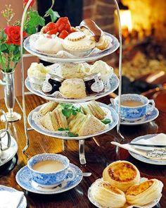 Yummy afternoon tea!