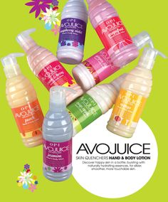 OPI Avojuice is my favorite moisturizer.  All the scents are great but Jasmine is my favorite :)