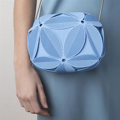 Maison 203 & Odo Fioravanti unveil new geometrically inspired 3D printed clutch