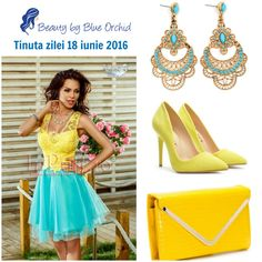 Tinuta zilei 18 iunie 2016 - Beauty by Blue Orchid Blue Orchids, Beauty, Beauty Illustration
