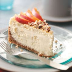 Magnolia Dream Cheesecake Recipe from Taste of Home -- shared by Charlene Chambers of Ormond Beach, Florida