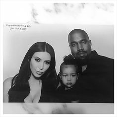 North West, 2, Stares Down the Camera in Kim Kardashian Family Photos - Us Weekly