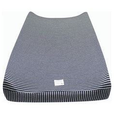 Create a soft place for each diaper change with the Burt's Bees Baby™ Organic Bee Essentials Stripe Changing Pad Cover. This changing pad cover is oh so soft in organic cotton. The print is simple and cute with slim stripes in modern shades. It's made to fit standard size changing pads and has elastic edges for a snug fit. Stock up on a few – it's nice to have extra changing pad covers available for those unexpected messy diaper changes.
