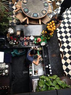 Bartender at Romita, Roma Norte, Mexico City DF