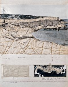 CHRISTO- Packed Coast (Project for Little Bay, New South Wales Australia)