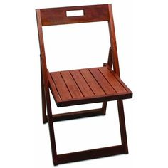 Wood Folding Chair Plans
