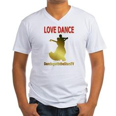 DancingwiththeStars Men's V-Neck T-Shirt