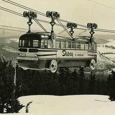 Mt. Hood Skiway tram   Flickr - Photo Sharing!