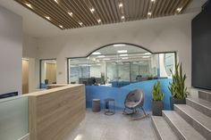Marine Tours - Office interior design for the HQs. Office Interior Design, Office Interiors, White Office Furniture, Glass Partition, Common Room, Reception Design, Strategic Planning, Furniture Making, Offices