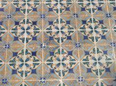 Fasadkakel i Lissabon