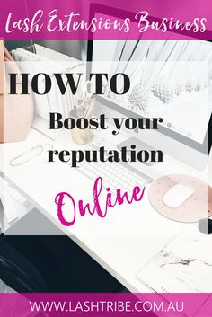 Here are some ways you can boost your reputation online and gain more exposure and be more known as a brand.