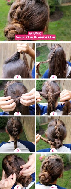 The Perfect Game Day Hairstyle You Can Do In Under 5 Minutes  - Seventeen.com