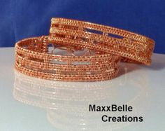 This tutorial includes full instructions for both the Flamenco I and the Flamenco II bracelets. I designed these bracelets for new wire workers that have the basic skills of wire weaving, making loops, and applying tension but have not yet taken on a full project. For new (and experienced) wire workers that are looking for a fast, yet beautiful, handmade gift, this multi-tutorial is perfect. Also, either bracelet would make a wonderful Mothers Day present by using crystals that are the color…