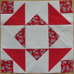 Euro Bee block for Isabel | por flossyblossy