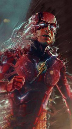 Flash Comics, Arte Dc Comics, Marvel Comics, Dc Comics Superheroes, Marvel Art, Flash Characters, Dc Comics Characters, Flash Wallpaper, Marvel Wallpaper