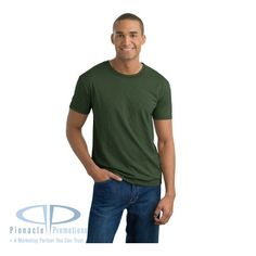 District Threads- Slub Crewneck Tee custom imprinted with logo. Great lightweight promotional tshirt that people will love to wear Urban Gear, Mens Tee Shirts, T Shirt, Pretty Shirts, Plain Tees, Thick And Thin, Oversized Tee, Trending Now, Apparel Design