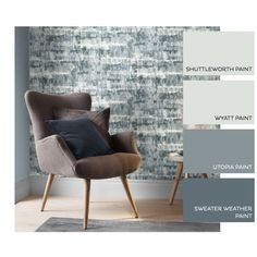 Expression Texture Petrol Wallpaper Graham, Accent Chairs, Texture, Wallpaper, Brown, Furniture, Home Decor, Upholstered Chairs, Surface Finish