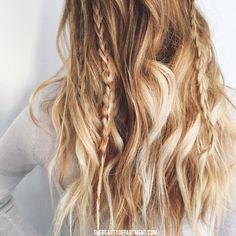 Hair hair everywhere. Messy Hairstyles, Pretty Hairstyles, Medium Hairstyles, Night Hairstyles, Hairstyle Ideas, Makeup Hairstyle, Bohemian Hairstyles, Winter Hairstyles, Hair Inspo