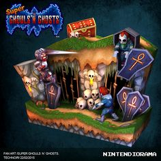 Super Ghouls´n Ghosts on Behance
