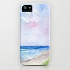 Wet Sand iPhone & iPod Case by Rosie Brown - $35.00 #iphone #ipod #case #skin #beach #seascape #society6