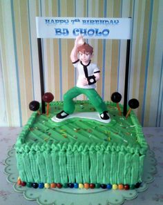 Ben10 Buttercream cake