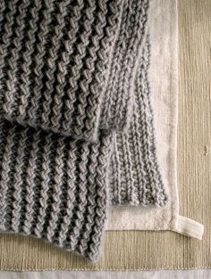 Rick Rack Scarf | Purl Soho LOOKS SO EASY AND WONDERFUL!!